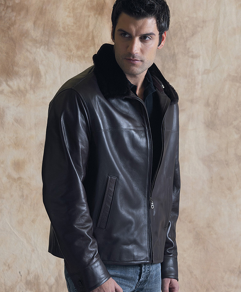 Deerskin Leather Jacket