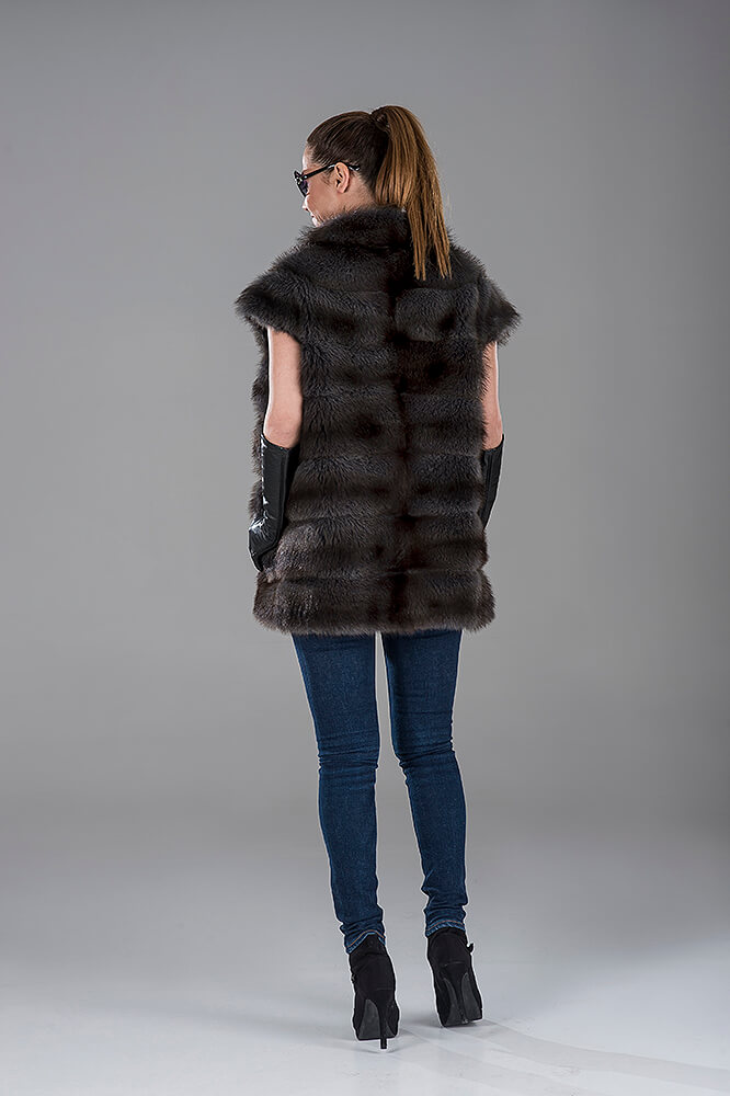 Full Skin Canadian Fitch Gillet(Vest)