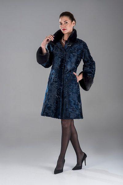 Blue Swakara Coat