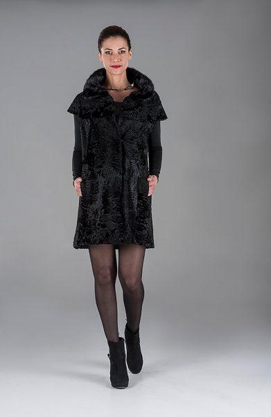 Black Swakara Gillet(Vest)