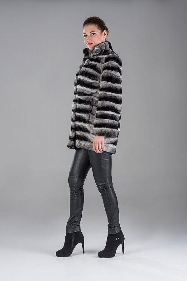Rex Chinchilla Jacket