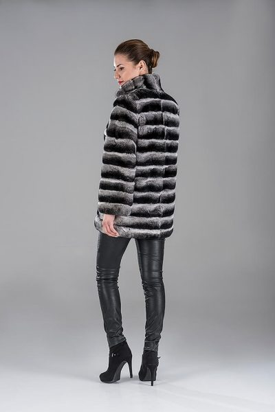 Rex Chinchilla Jacket