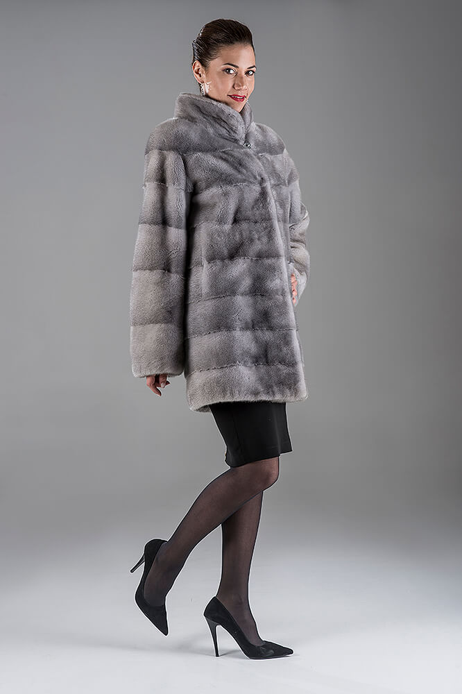 Full Skin Saphire Nafa Mink Jacket