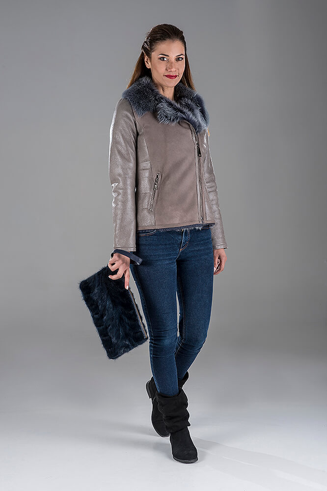 Sheepskin Battle Jacket