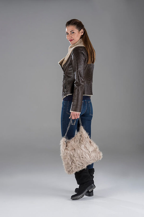 Sheepskin Bike Jacket