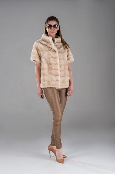Full Skin Palomino Mink Gillet(Vest)